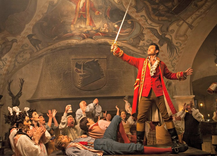 Gaston, the beauty and the beast, disney, movie, película
