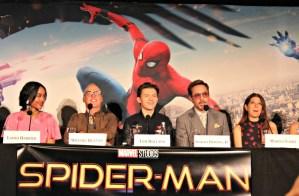 spider man, junket, influencers, movie, bloggers