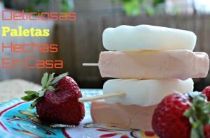 Paletas Heladas Caseras: fácil receta y de varios sabores