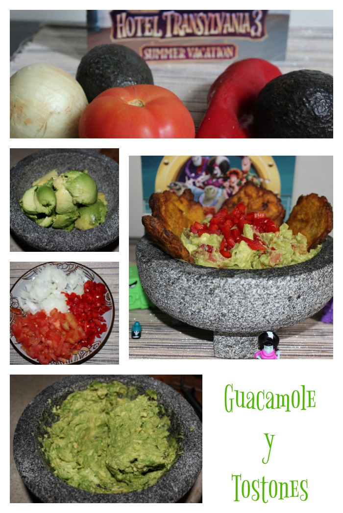 guacamole, receta, aguacate, tostones