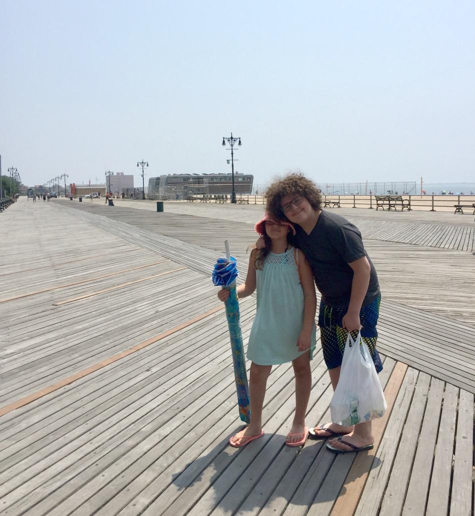 beach, coney, island, brooklyn, ny, new york city, playa, boardawalk, summmer