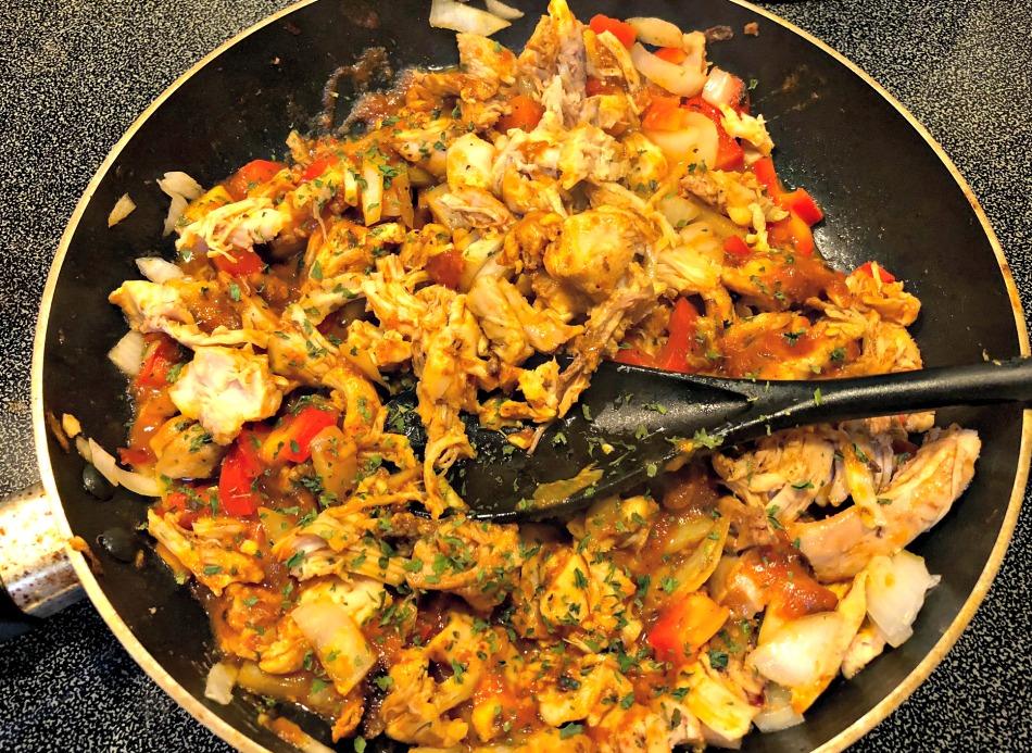 tarta pollo, receta tarta, receta masa, pollo