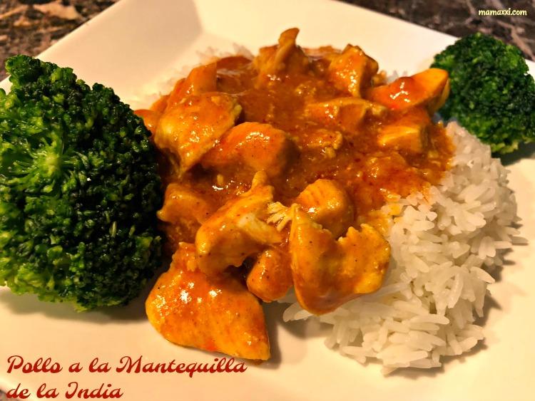 receta, india, hindú pollo mantequilla, butter chicken