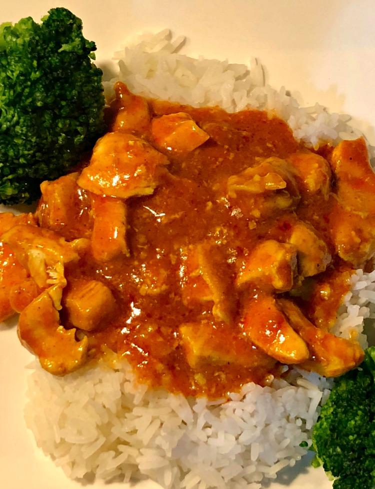 pollo mantequilla india, receta