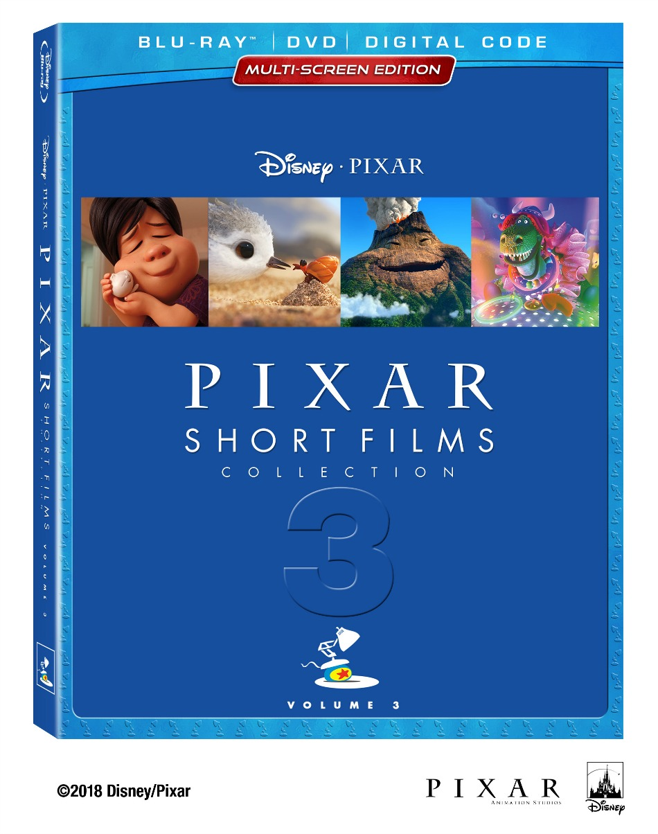 pixar, disney, movie, blu-ray, dvd, cortos de pixar