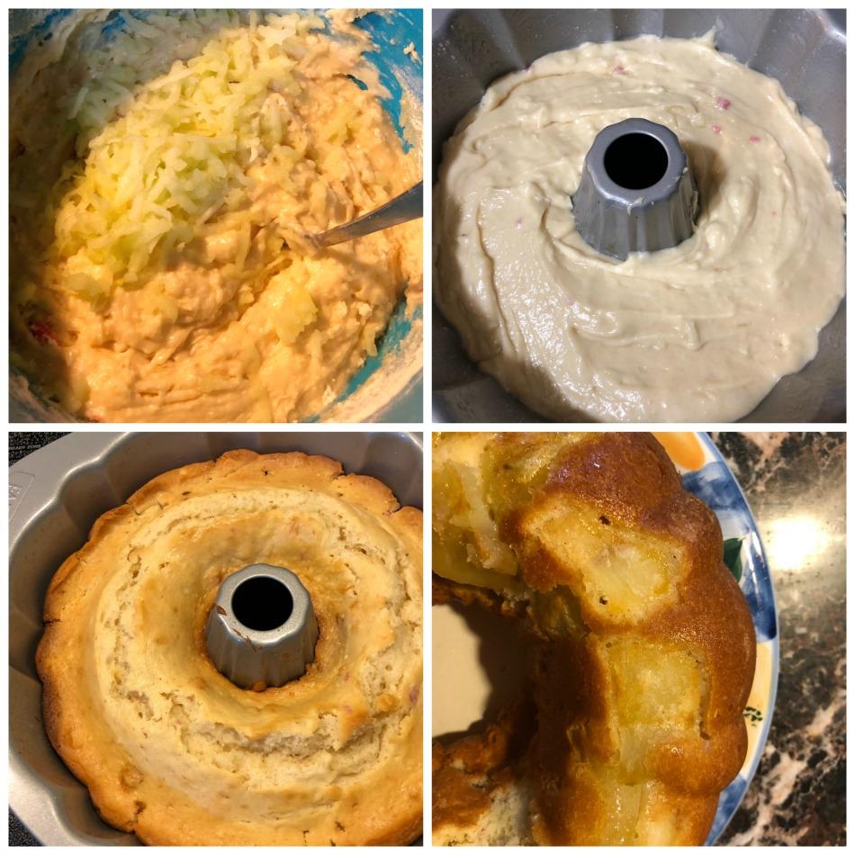 torta manzana, yogur, huevo, receta