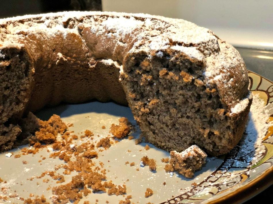 receta, torta, chocolate, nesquik, facil, niños, mantequilla de mani