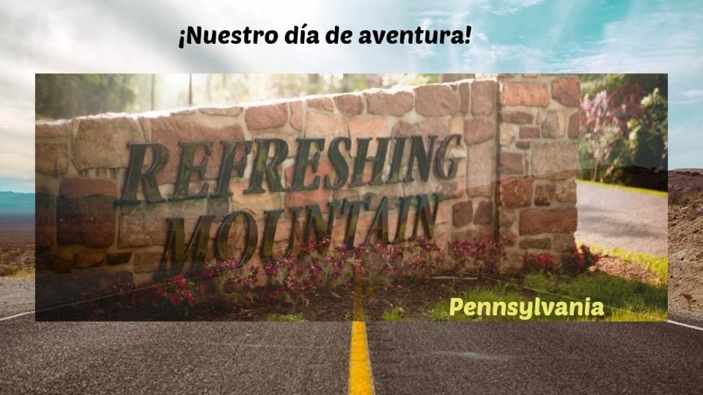 refreshing mountain, pennsylvania, family, adventure