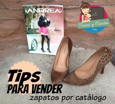 Tips para vender zapatos por cat logo mam y maestra for Zapatos por catalogo