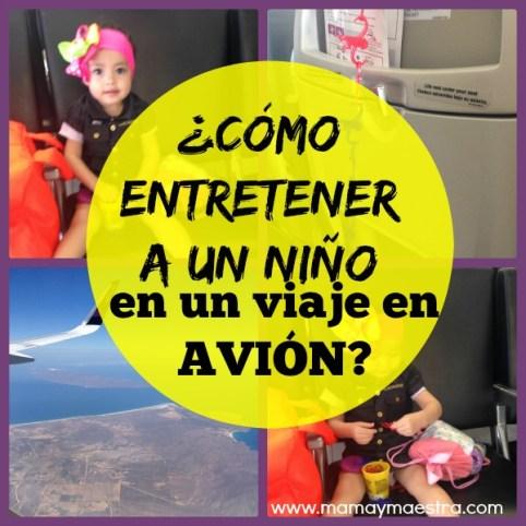 entretener-niño-viaje-avión