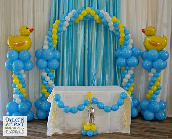 Image: Ideas para decorar baby shower de patos - Mamá y maestra