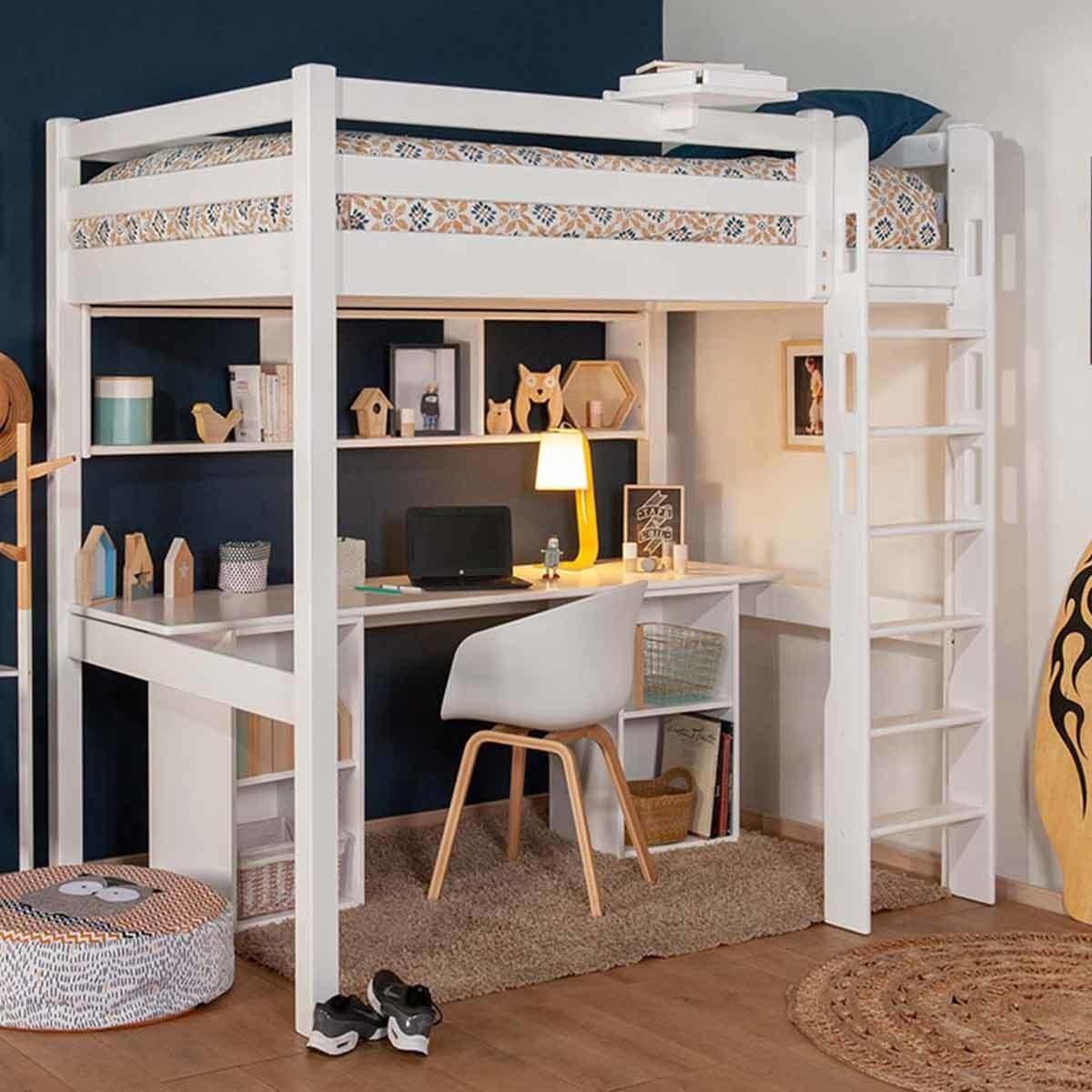 etagere pour lit mezzanine castel