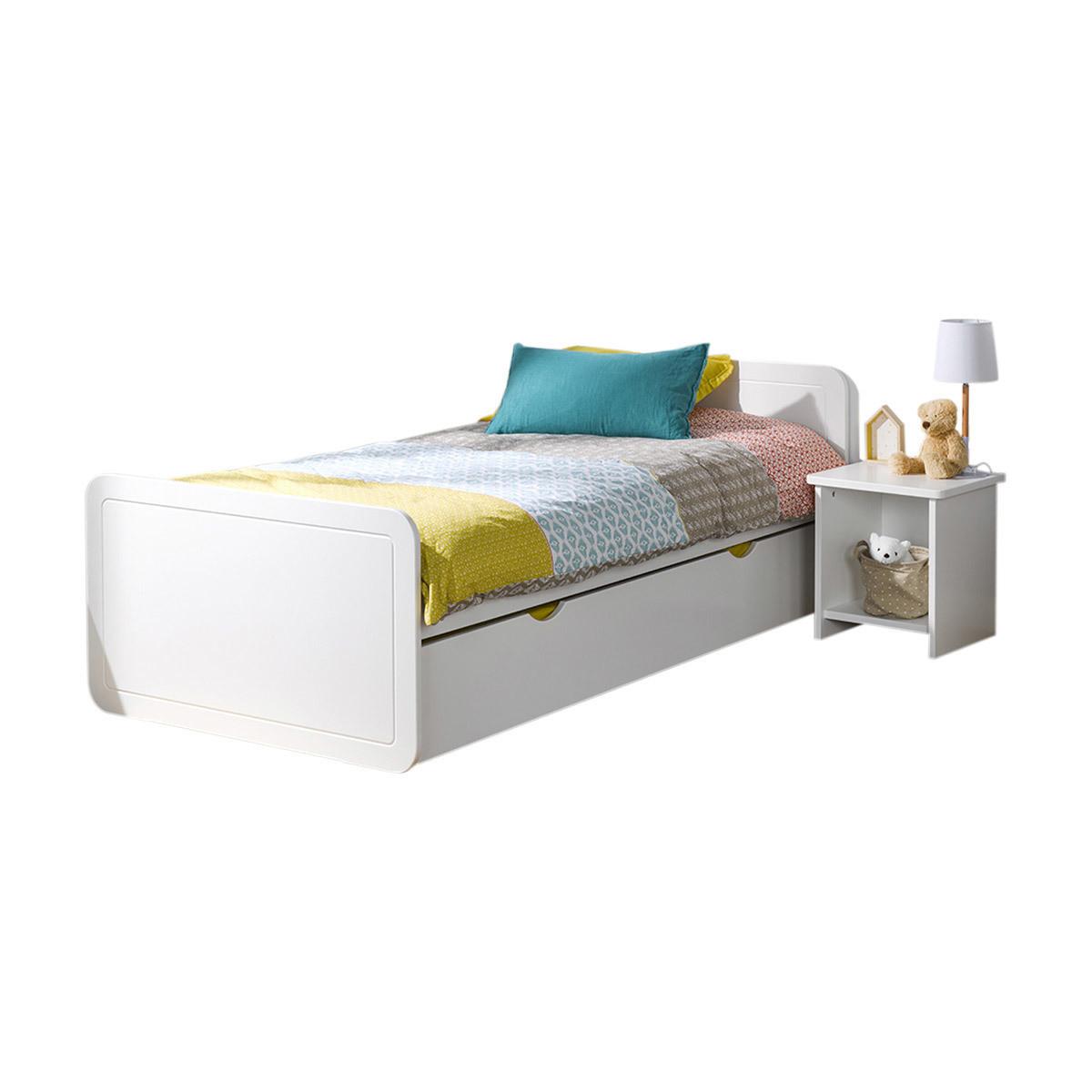lit avec matelas lauris