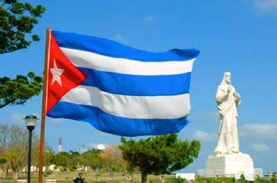 Il Cristo dell'Avana benedice la città