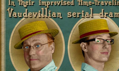 Turn of the Century Vaudeville Poster
