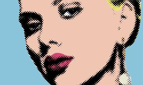 Pop Art Inspired by Lichtenstein