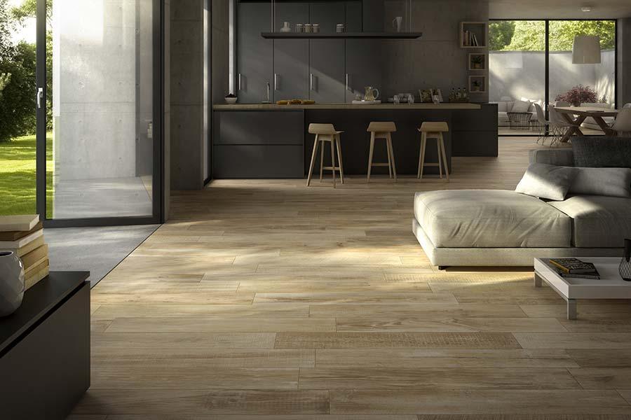 Gres effetto legno collezione Cross Wood di Panaria  MAM Ceramiche