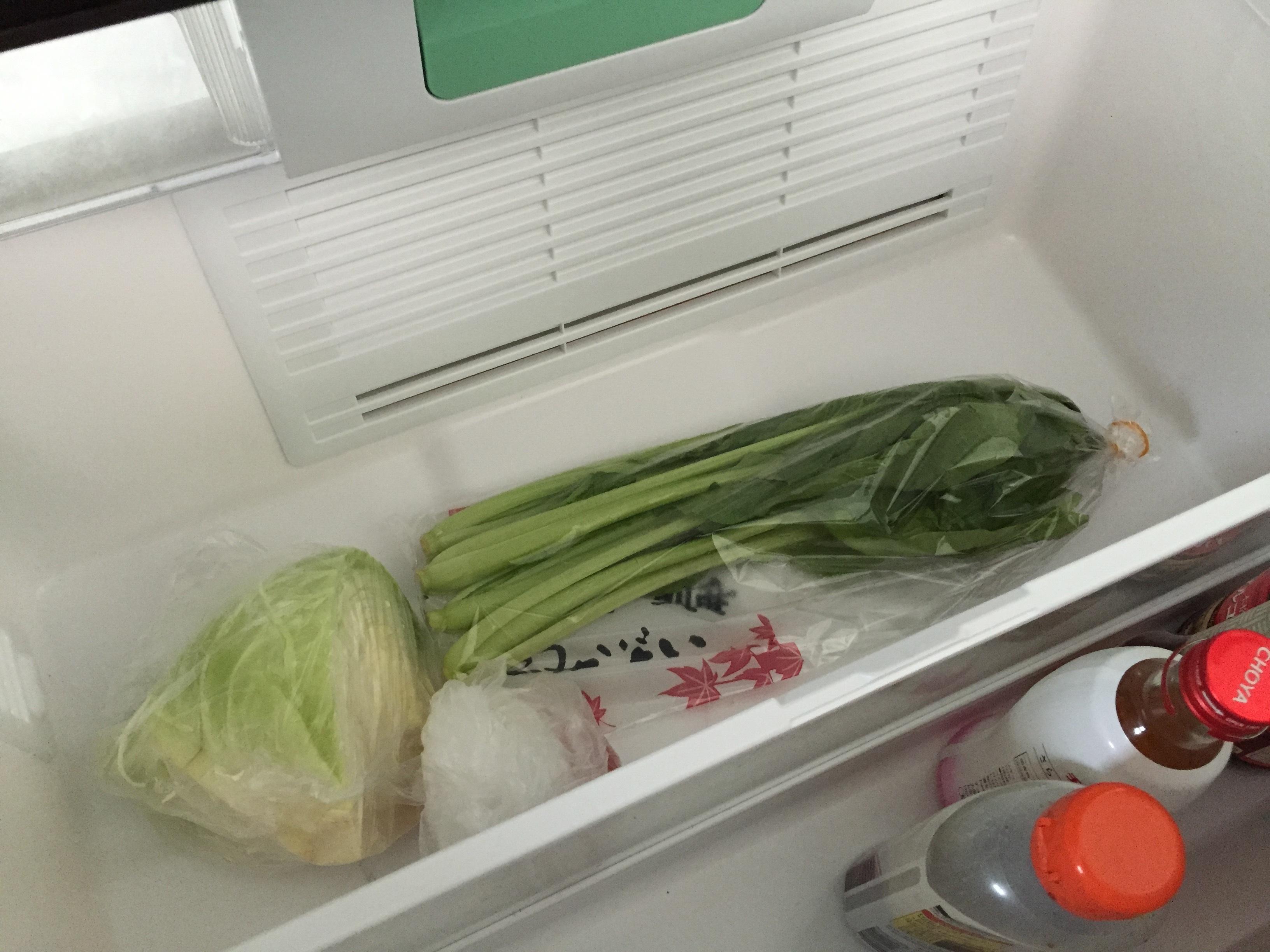 常備菜は作らない。食べきる食生活で冷蔵庫もすっきり