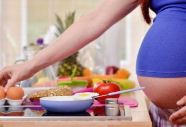Sarea in bucatele gravidei