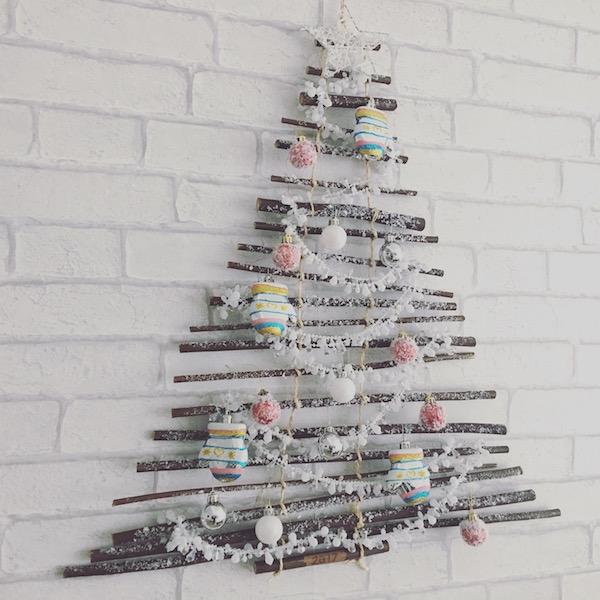 Taller leroy merlin rbol de navidad con ramas y tutorial - Arbol de navidad leroy merlin ...