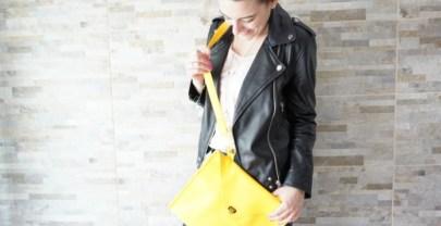Bolso a lo La La Land, un bolso amarillo inspirado en la película