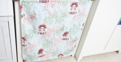 DIY COSTURA Cómo hacer una cortina ocultavergüenzas