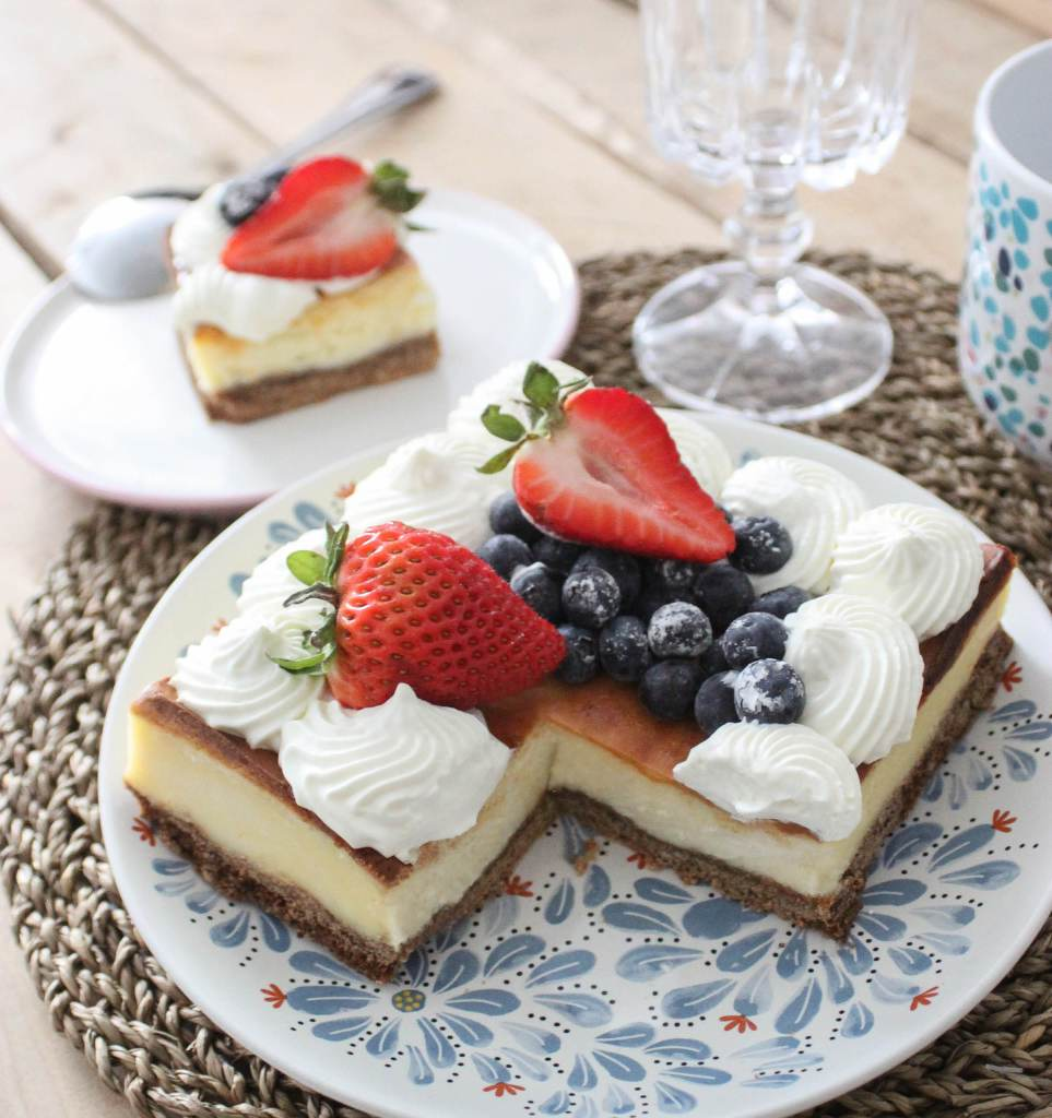 Cheesecake sans part