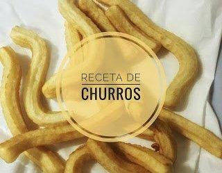 Receta churros