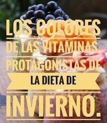 Los colores de las vitaminas, protagonistas de la dieta de invierno