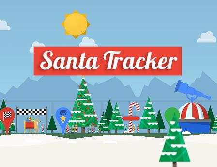 Sigue a papá Noel con Santa Tracker