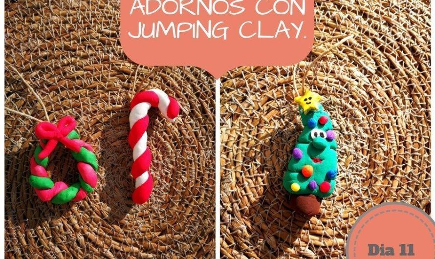 Adornos con jumping clay.