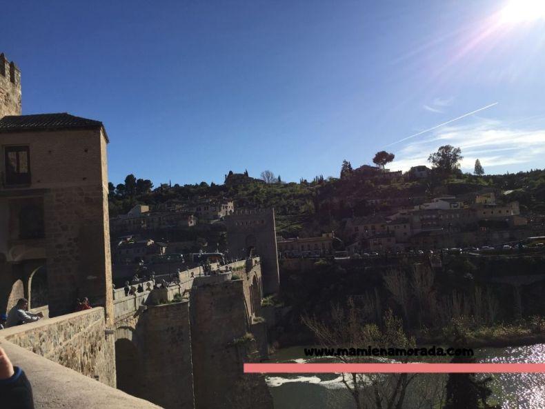 Puente San Martín y tirolina -Toledo-