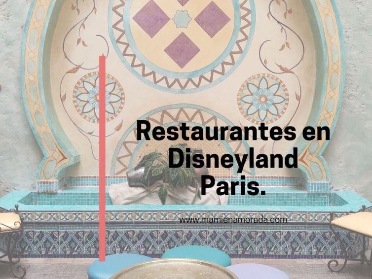 Restaurantes en Disneyland Paris.