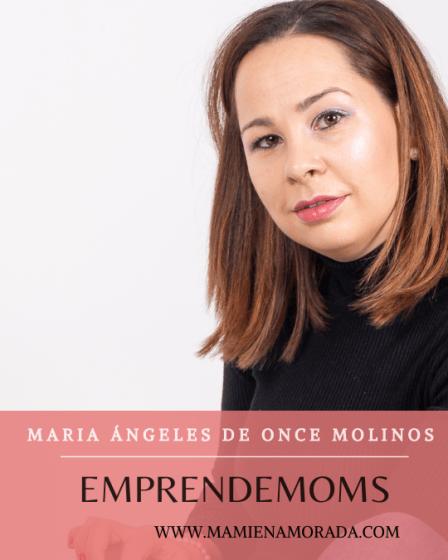Emprendemoms, Maria Ángeles, de apartamentos vacacional de Consuegra Once molinos.