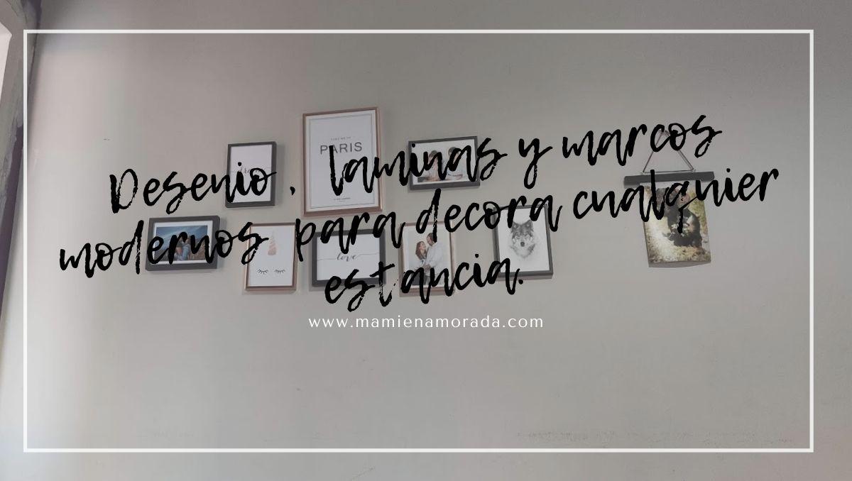 Desenio , laminas y marcos modernos para decora cualquier estancia.