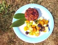 Muffins au chocolat blanc et fruits rouges