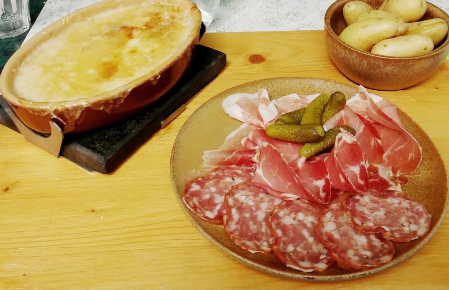 spécialité du chablais (haute savoie) à base de fromage d'abondance