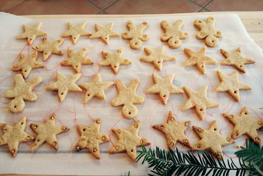 Sablés de Noël croustillants à la cassonade et au beurre demi-sel