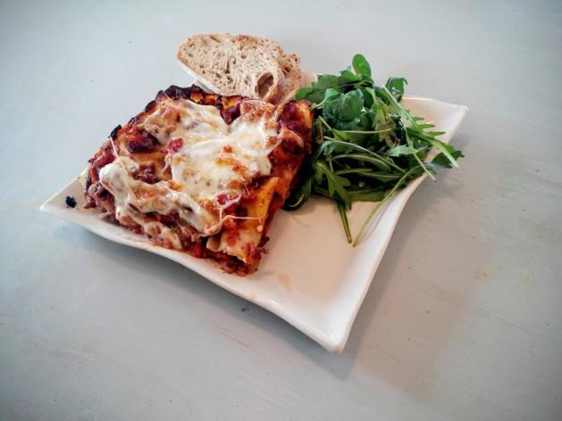 lasagnes à la mozarella de naples