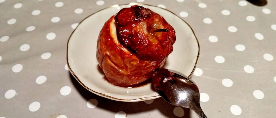 pomme au four farcie aux fruits secs