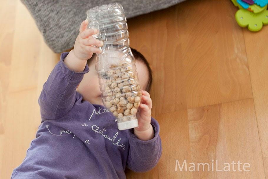 Juguetes caseros para beb s de m s de 6 meses botellas sensoriales mamilatte - Juguetes para bebes 9 meses ...