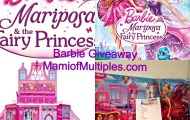 Reinforce Positive Friendship Values with Barbie Mariposa and The Fairy Princess Giveaway