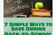 Seven Simple Ways to Save During Back-to-School #CheeriosProtein