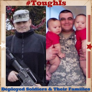 #ToughIs Deployed Soldiers and Their Families with Help of Wounded Warrior Project and Brawny Paper Towels