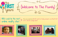 Celebrate Parenthood with The First Years Welcome to The Family Video Series and Giveaway
