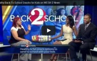 Back-to-School Healthy Snacks {As Seen on WESH 2 NBC}
