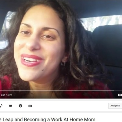 Making the Leap and Becoming a Work At Home Mom