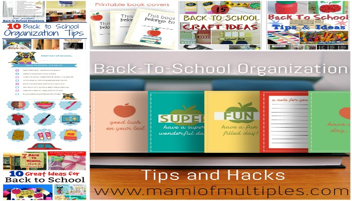 Back-To-School Organization Tips and Hacks