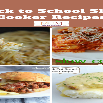 Back-To-School Slow Cooker Recipes