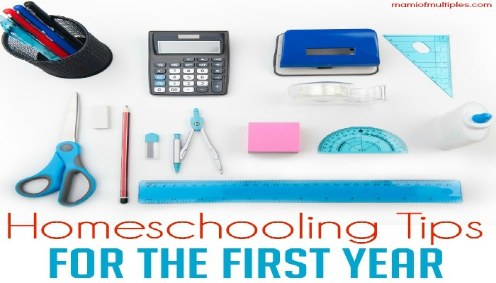 Tips for Homeschooling the First Year